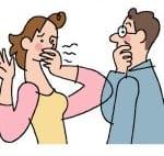 夫婦仲に影響!旦那の口臭が臭すぎてキスできない!