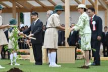 全国植樹祭にご出席された雅子さま(撮影/JMPA)