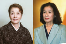 姉妹ともに日本を代表する女優(時事通信フォト)