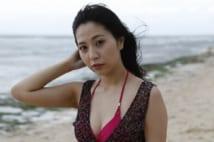 緑川ちひろ ギャップ美女は際どい水着で誘惑の視線