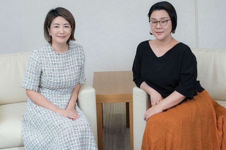 対談集『女に生まれてモヤってる!』が刊行されたジェン・スーさんと中野信子さん