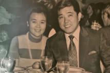 """出会った頃、沙知代婦人は会社経営者。互いに別に家庭を持つ""""禁断の恋""""の始まりだった"""