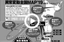 【動画】MEGA地震予測最新版全国で異常変動が!