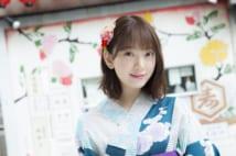 映画初主演の乃木坂46・堀未央奈 浴衣姿で初夏を彩る
