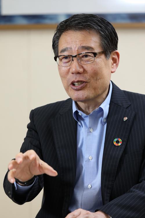 セブン-イレブン・ジャパンの永松文彦社長