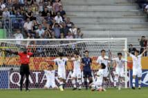 サッカーU20W杯・決勝トーナメント1回戦(EPA=時事)
