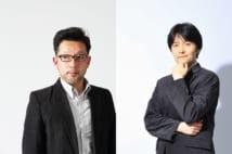 相場英雄氏(左)と長岡弘樹氏(右)