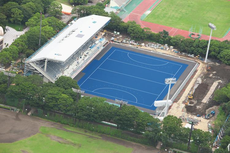 開催まで残り1年 東京五輪会場11施設を空から撮影 NEWSポストセブン ...