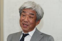 吉本の大崎会長(時事通信フォト)