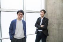 新海誠監督(左)と雲研究者・荒木健太郎さん(右)