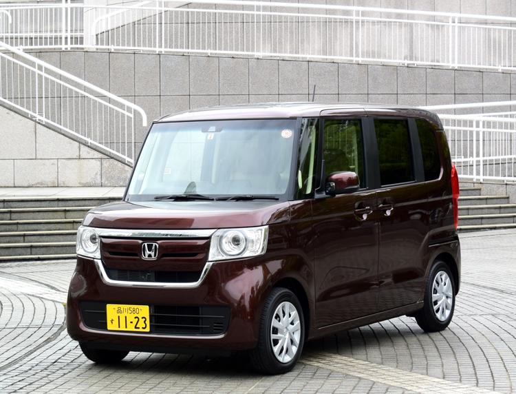 軽自動車販売で5年連続トップの「N-BOX」(ホンダ)
