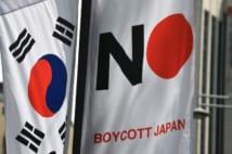 日本製品を使うだけで非難される事態まで起きた(AFP=時事)