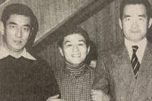 高倉健と長嶋茂雄に挟まれる吉野ママ