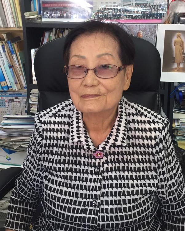 挺対協の理事長として長く慰安婦問題に取り組んで来た金文淑氏