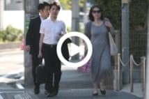 【動画】小室圭さんの母、SPがつくようになってセレブ風に
