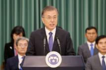 経済混乱が起きれば、日本へも影響は出る(EPA=時事)