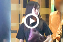 【動画】橋本環奈 焼肉店へ直行!可愛すぎる夜の姿