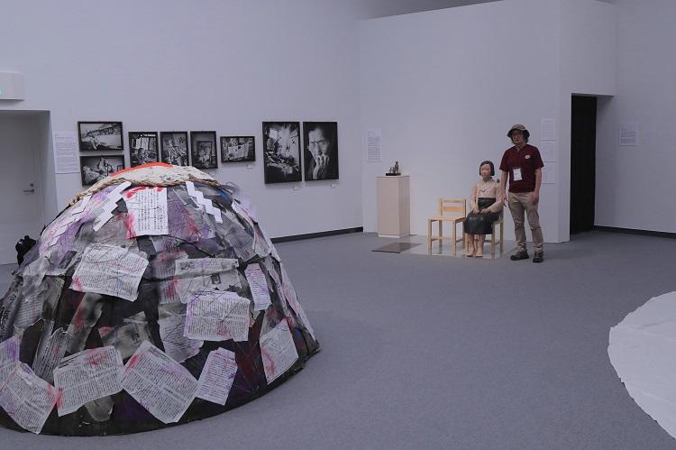 国際芸術祭「あいちトリエンナーレ2019」の企画展「表現の不自由展・その後」の展示