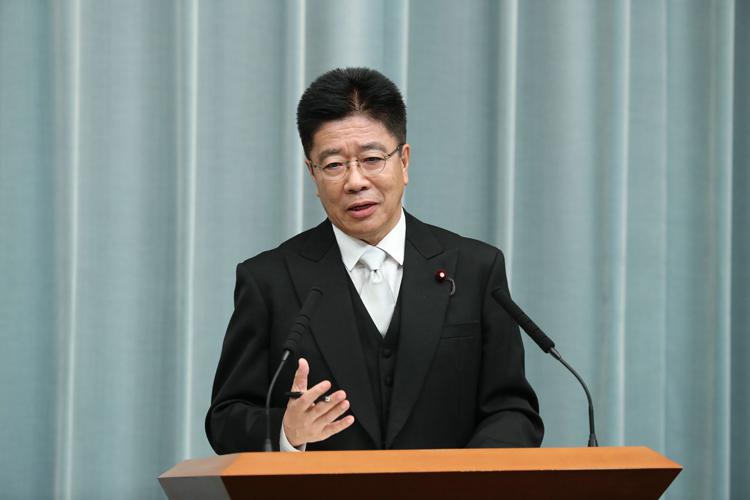加藤勝信氏も有力候補(写真/時事通信フォト)