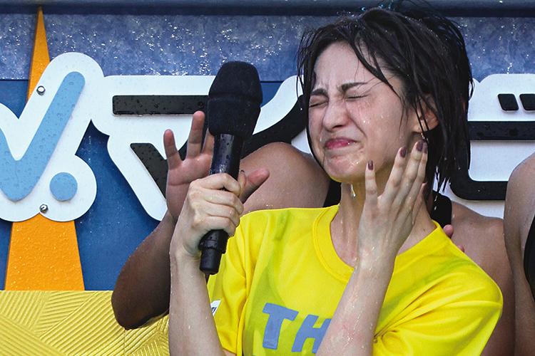 フジテレビ夏祭りで女子アナびしょ濡れ、悪ノリに高評価の声