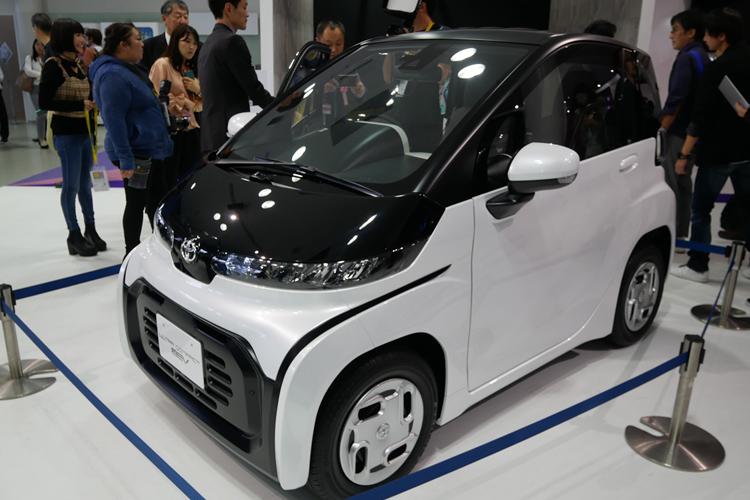 軽自動車よりも小さいトヨタの新EVコンセプト