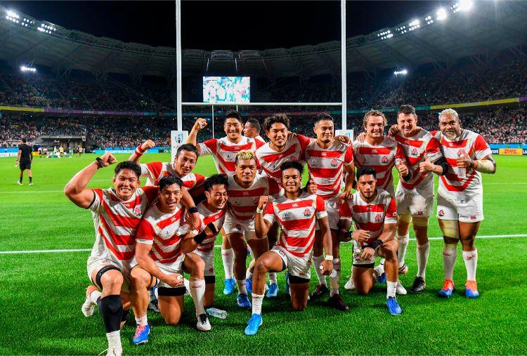 先人の魂を受け継ぎ、日本ラグビーは「歴史の創造者」を目指す(AFP=時事)