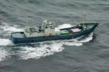 北朝鮮の不審船による緊張が続いた(写真提供/海上保安庁)