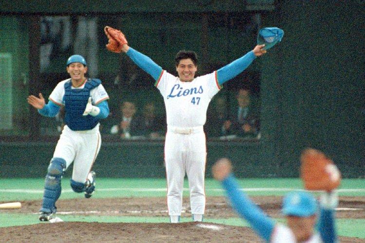 1987年、巨人と西武の日本シリーズ。工藤公康投手はMVPに輝いた(写真:時事通信フォト)
