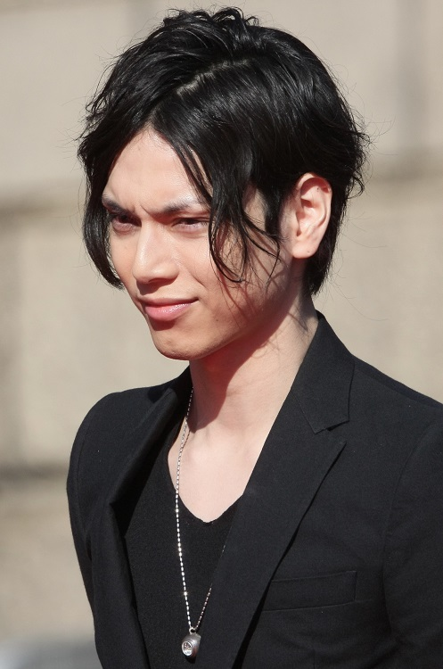 2013年の映画「黒執事」が最新の主演作となっている水嶋ヒロ(時事通信フォト)