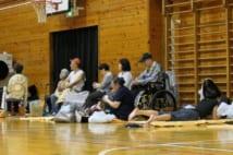 台風19号により多くの人々が避難した(AFP=時事)
