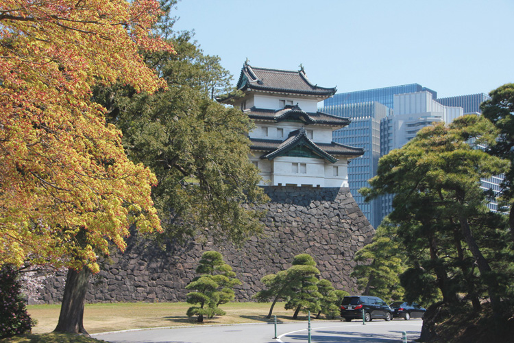 高さを残す富士見櫓