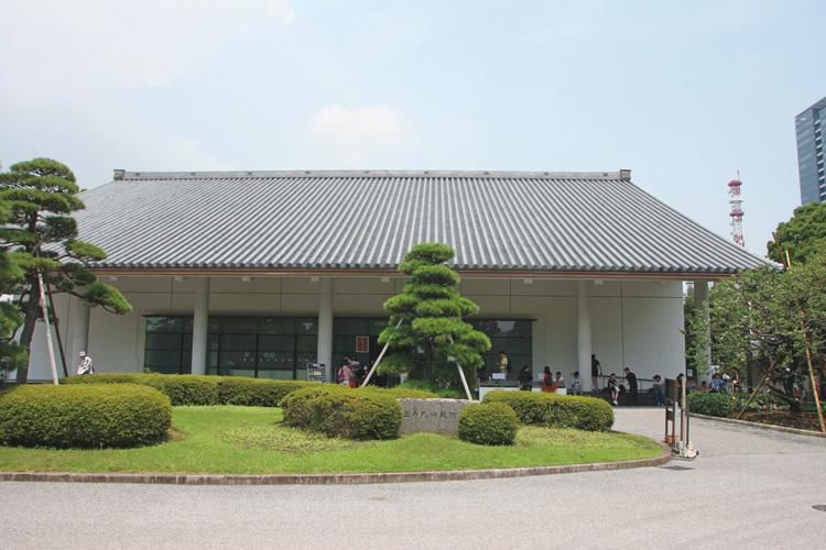 美術品の眠る三の丸尚蔵館