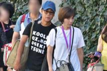 休養中の名倉潤 満里奈と子供の運動会に出席、元気そうな姿