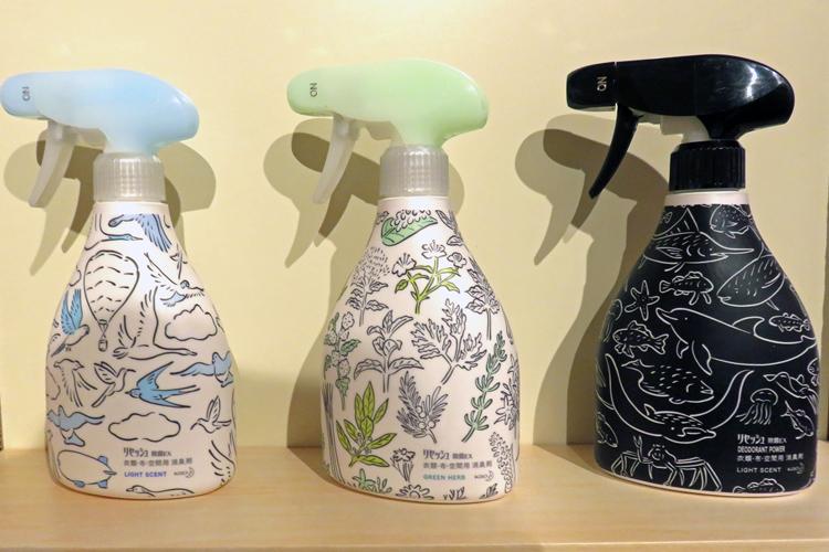LOHACOデザインで通常品の11倍も売り上げた花王「リセッシュ除菌EX」
