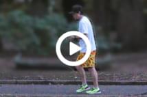【動画】ムロツヨシ プライベートなジョギング姿をキャッチ