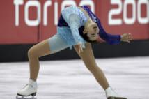 荒川静香はトリノ五輪唯一の金メダルを獲得(時事通信フォト)
