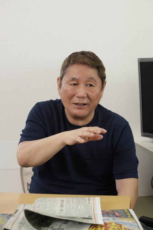 最新刊『芸人と影』が話題のビートたけし氏