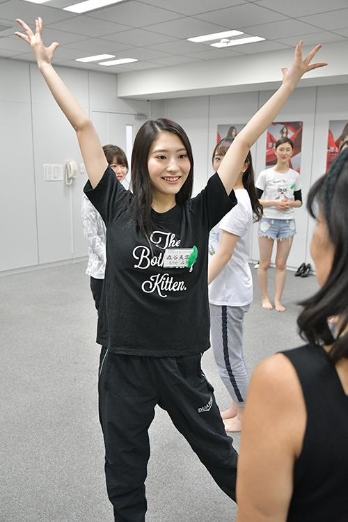 将来の夢はアナウンサーという山形大学の森谷美雲さん(20)