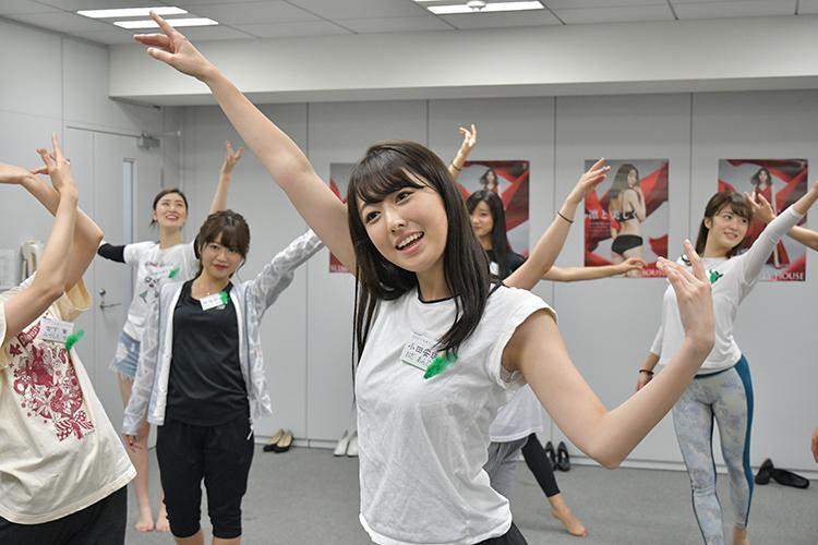 ミス慶應2018グランプリにも輝いた小田安珠さん(21)