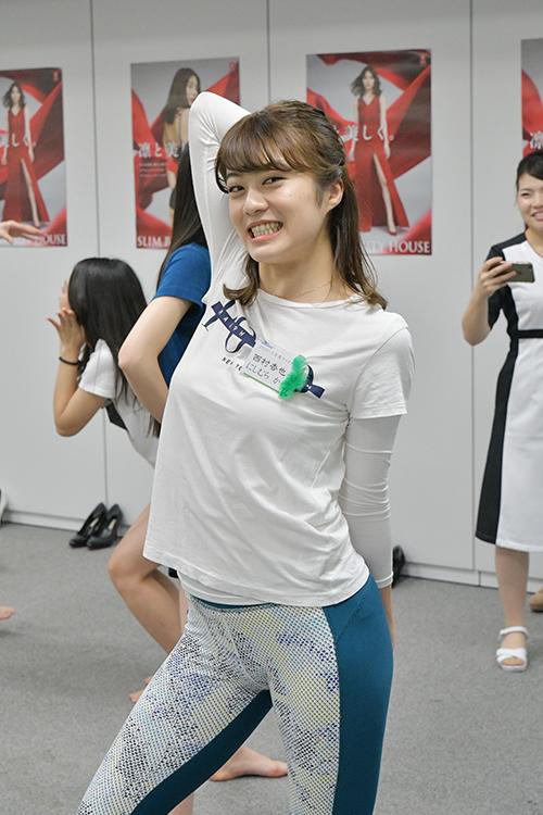 ミス立教2019グランプリにも輝いた西村香也子さん(21)