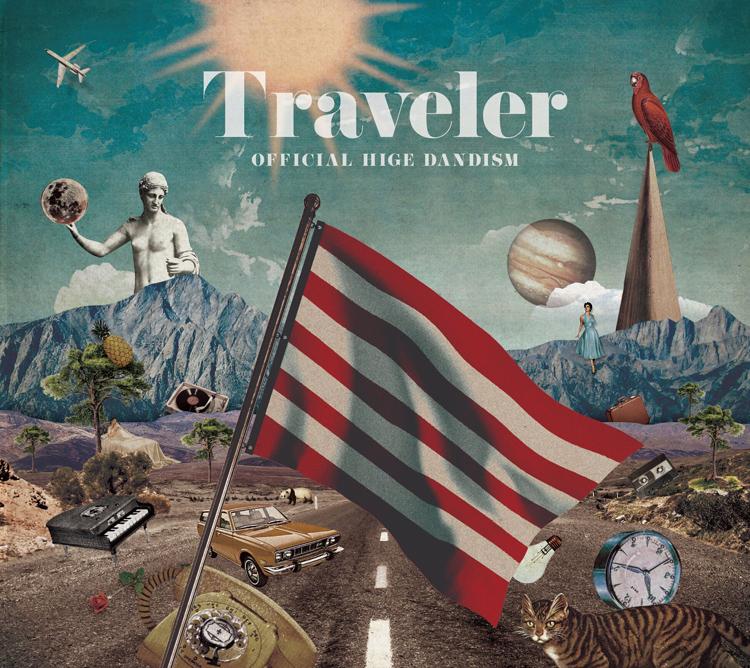 メジャー1stアルバム「Traveler」はオリコン週間ランキングで初登場1位に(画像提供/ポニーキャニオン)