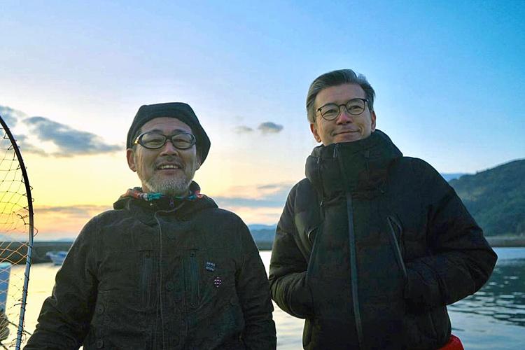今年YouTubeチャンネルを開設した藤村忠寿氏(左)と嬉野雅道氏