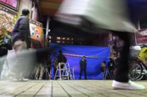 「彼ら」は街なかでも平気で発砲する(写真/AFLO)