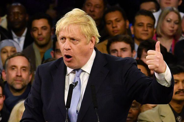 ジョンソン首相率いる保守党が勝利。EU離脱へ加速か(AFP=時事)