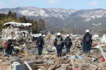 東日本大震災からまもなく9年(時事通信フォト)