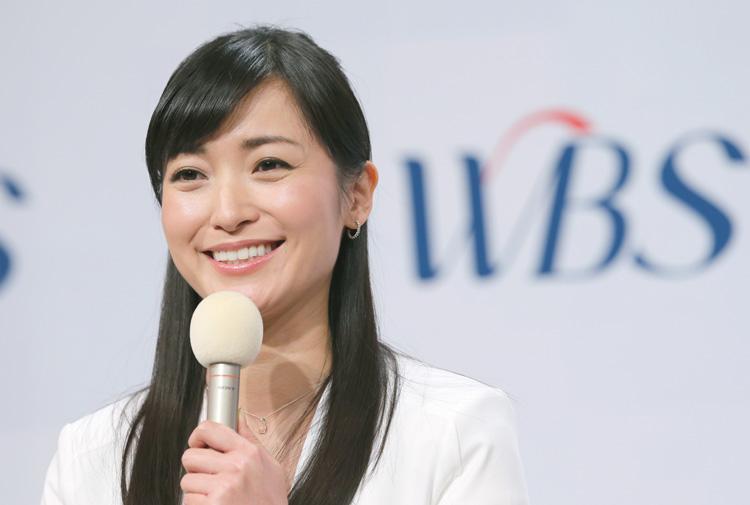 大江麻理子アナは今やテレ東の顔(時事通信フォト)