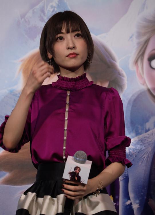 『アナと雪の女王2』でアナの声優を務める神田沙也加