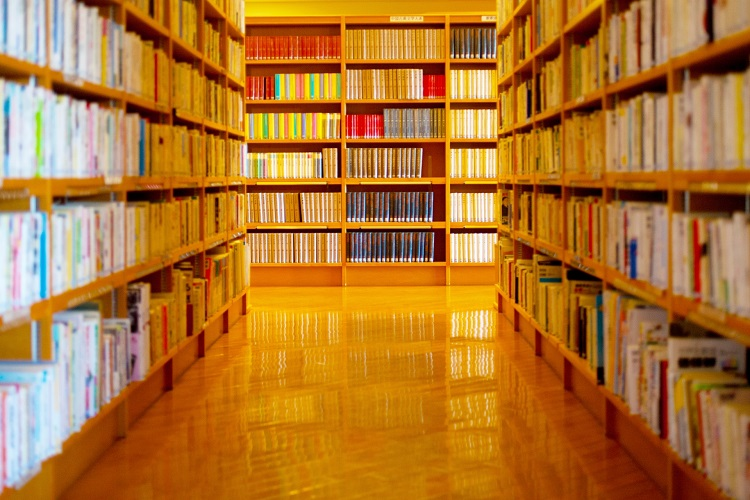 今は地元の図書館で非正規司書として働いている(イメージ)