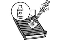 意外と手間いらずの魚焼きグリル、片栗粉を使うと掃除が楽に