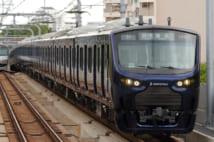 相鉄12000系。写真は直通運転開始前の横浜行き(写真提供:早大鉄研)